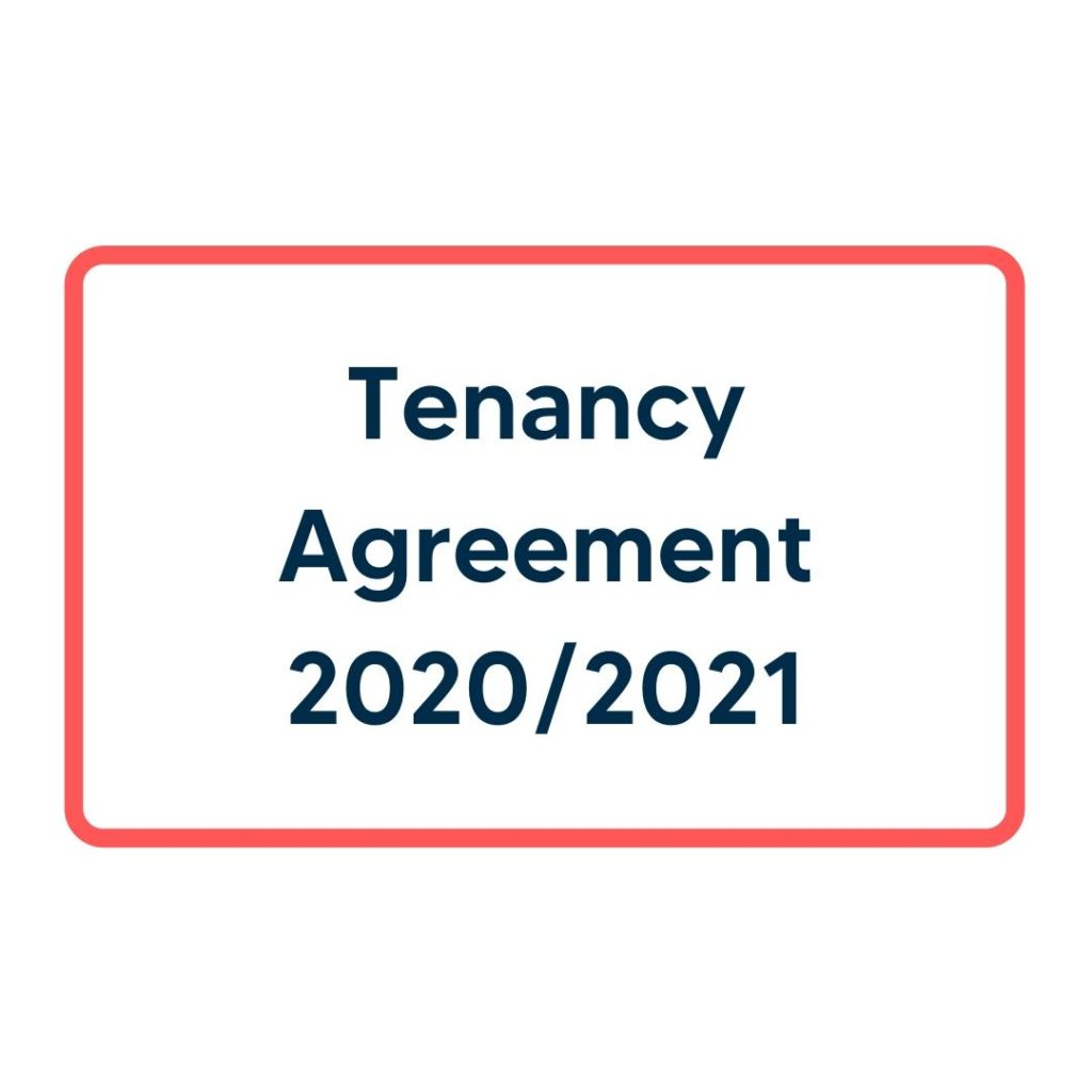 Tenancy Agreement 2020/2021